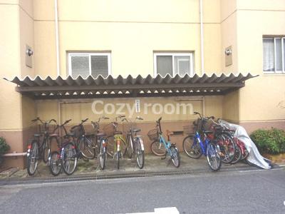自転車置き場です、