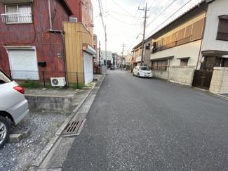 千葉市中央区椿森 土地 東千葉駅 前面道路広々幅員7メートル。