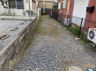 千葉市中央区椿森 土地 東千葉駅 道路から平坦な地勢です。
