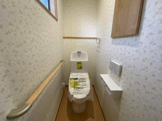 中央区松ヶ丘町 新築一戸建て 大森台駅 清潔感のある御手洗いです。