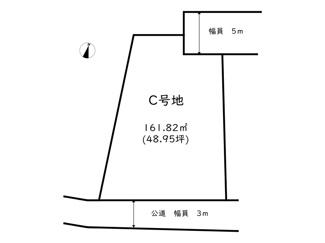 【区画図】たつの市龍野町富永/5区画