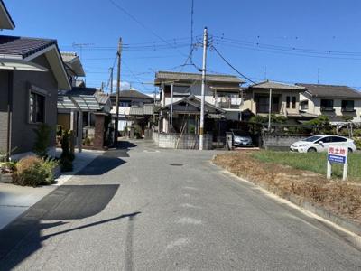 【前面道路含む現地写真】たつの市揖保川町正條/売土地