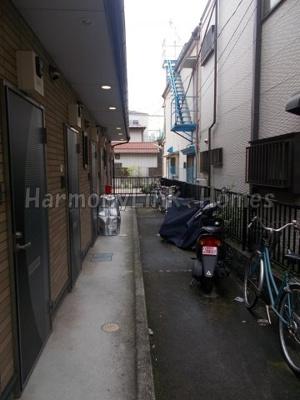 サニーサイド西日暮里の駐輪スペース☆