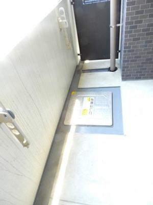 【バルコニー】セイワパレス玉造駅前