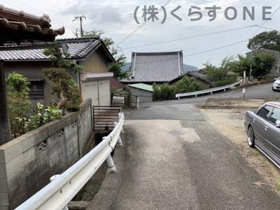 【前面道路含む現地写真】たつの市神岡町沢田/中古戸建