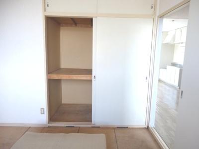 和室6帖の収納※写真はイメージです