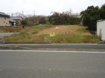 【前面道路含む現地写真】【売土地】芸西村西分 畑