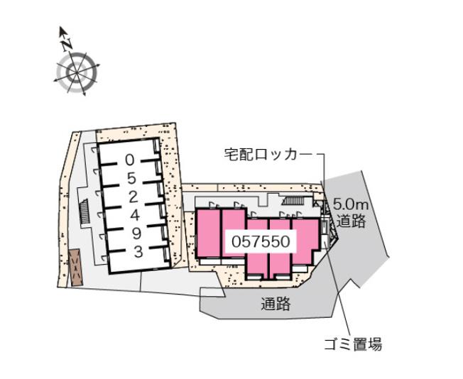 【区画図】ベルロサージュ