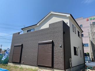 岐阜市六条大溝 新築戸建 全2棟 堂々完成です!!内覧可能!西に玄関をつくり、南側前面居室に!日当り良好♪