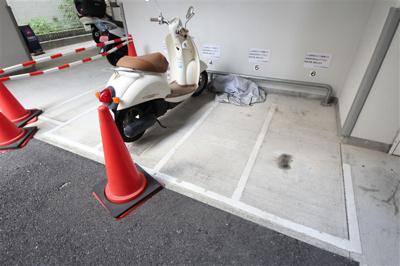 【駐車場】インザグレイス天神橋