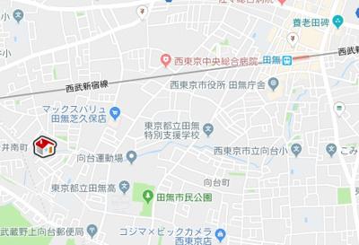 【地図】レオパレスヴィラ天城(27625-104)