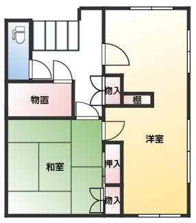 【間取り】山武市木原戸建て住宅