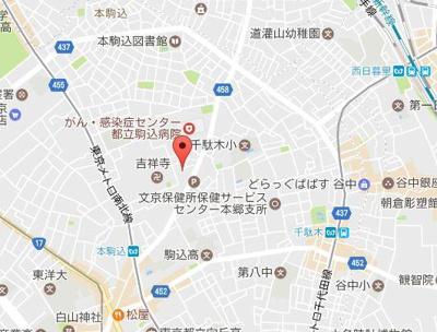 【地図】アプリシエイト本駒込