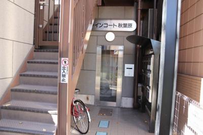 【エントランス】ファインコート秋葉原
