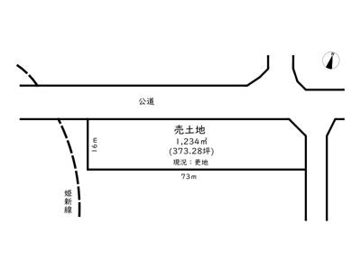 【外観】たつの市神岡町大住寺/土地
