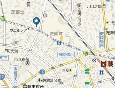 【地図】グランバレーⅢ(グランバレー スリー)