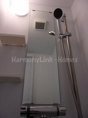 ハーモニーテラス四谷坂町の落ち着いた空間のシャワールームです☆