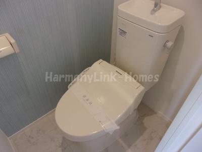 ハーモニーテラス四谷坂町のトイレです☆