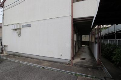 【エントランス】コスモハイツ