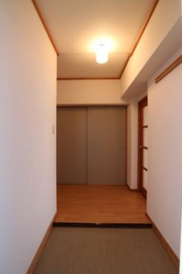 【玄関】シティハイツ竹の台1号棟