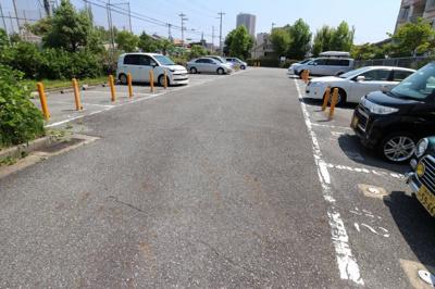 【駐車場】シティハイツ竹の台1号棟