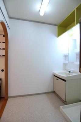 【洗面所】シティハイツ竹の台1号棟