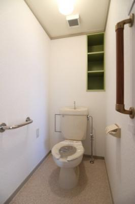 【トイレ】シティハイツ竹の台1号棟