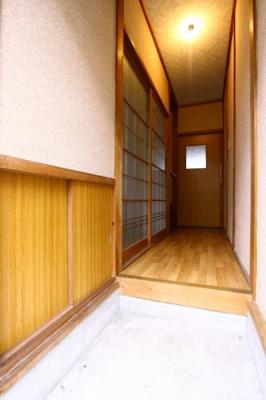 【玄関】舞子台5丁目テラスハウス