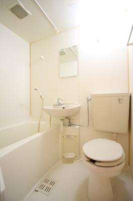 【浴室】フローラル上花山