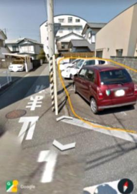 【外観】大川筋2丁目(高知城橋北東)パーキング