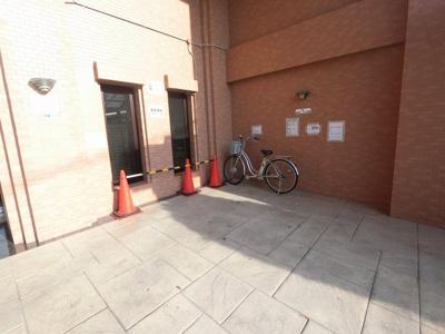 来客駐輪場・バイク置場