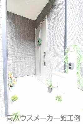 【外観:施工例】海老名市社家 1号棟 新築戸建 全9棟 【仲介手数料無料】