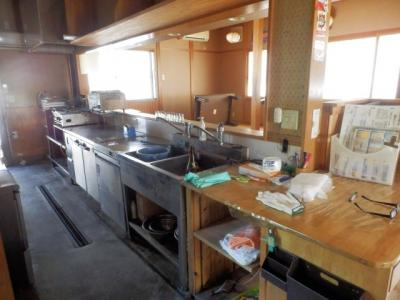 【キッチン】山南町草部 売店舗