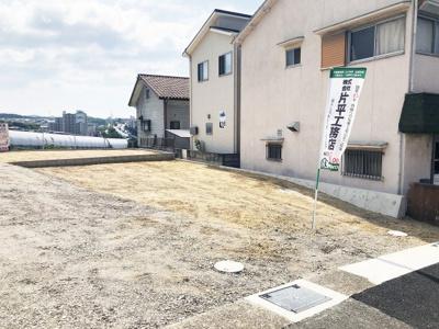 【前面道路含む現地写真】神戸市垂水区南多聞3丁目 新築戸建