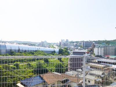 屋上から望める カメラでは収まらない 広がりある眺望です