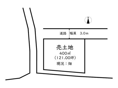 【外観】たつの市揖西町新宮/売土地