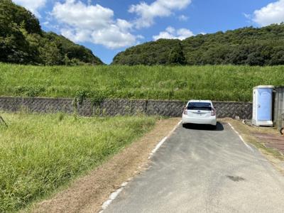 【前面道路含む現地写真】たつの市揖西町新宮/売土地