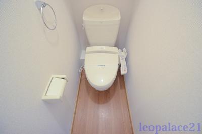 【トイレ】レオパレスウィステリアⅠ