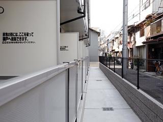 【バルコニー】レオパレスウィステリアⅠ