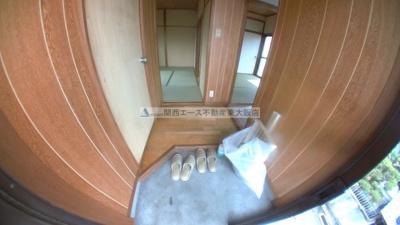 【玄関】新石切テラスハウス