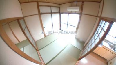 【居間・リビング】新石切テラスハウス