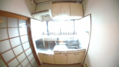 【キッチン】新石切テラスハウス