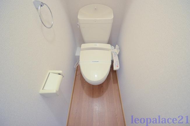 【トイレ】レオパレスプルーム淀川