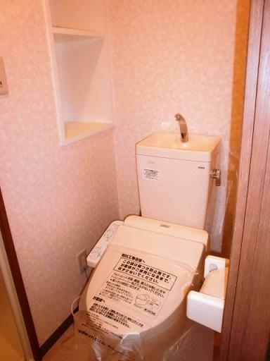 ウォシュレット設備のトイレです。