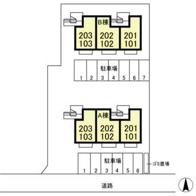【区画図】ヴィラモデルナ