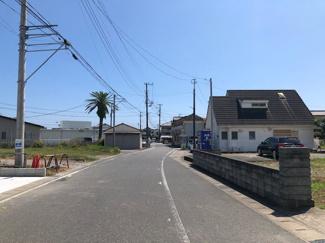 【前面道路含む現地写真】南房総市千倉町北朝夷 住宅用地