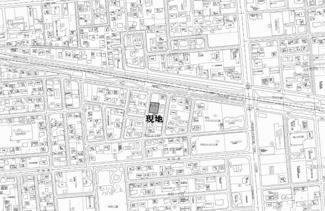 【地図】栄町4丁目 中古戸建
