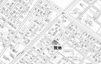 【地図】春光町4丁目 中古戸建