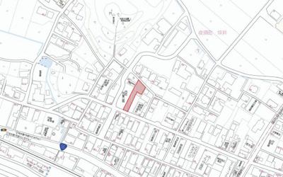 【地図】夜須町坪井