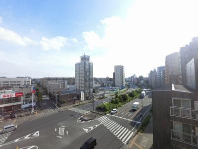 6階部分からの眺望